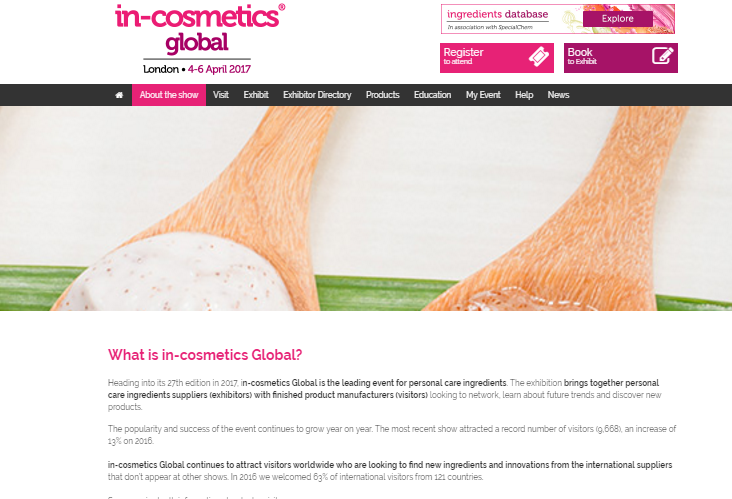 Site In Cosmetics Global
